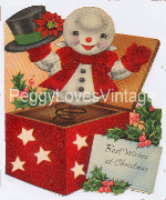 Vintage Snowman Jack in the box image